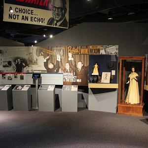 Modern presidents exhibit area