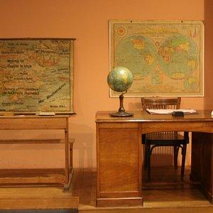 Hazte una foto escolar. Museo Pedagógico de Aragón
