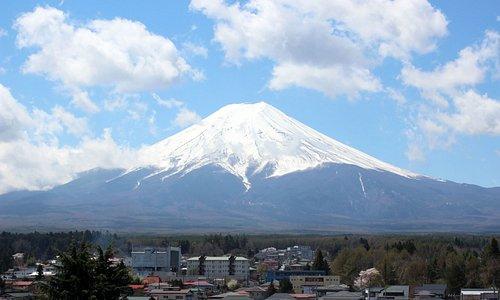 FujiSan view from Fujiyoshida