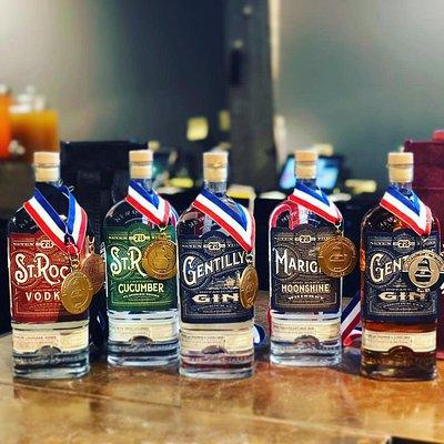 Our award-winning spirits!