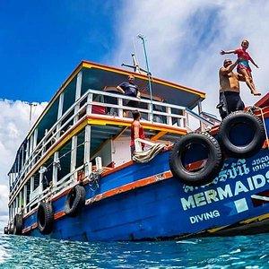 mermaids boats