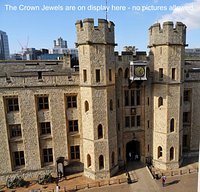 The Jewel House inside the Tower of London complex