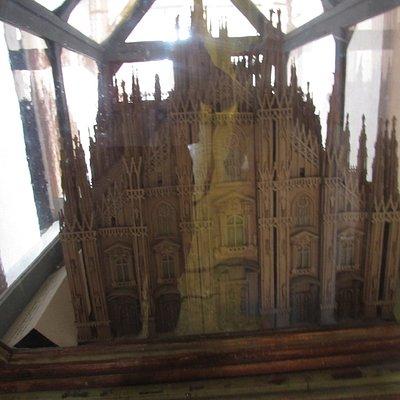 modellino del Duomo di Milano