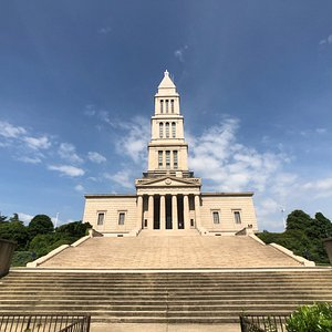 GW Masonic National Memorial - Front exterior