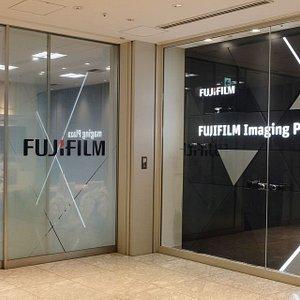 Entrance of FUJIFILM Imaging Plaza