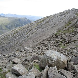 The Great Slab on Bowfell