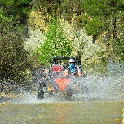 Anadolu Rafting buggy