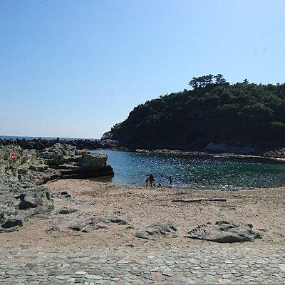 ビーチ全景