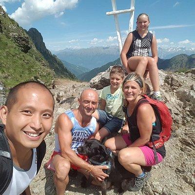 Trekking in the orobie Alps