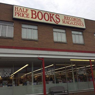 Half Price Books.