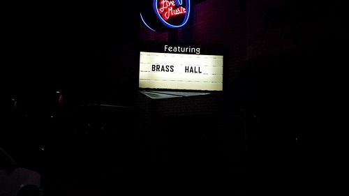 Brass Hall Famous Marquee