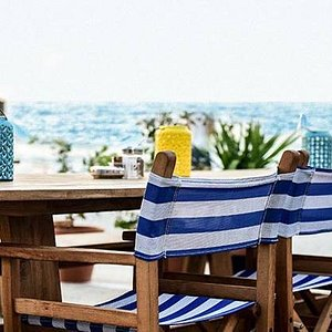 Have a fresh drink and enjoy the view
