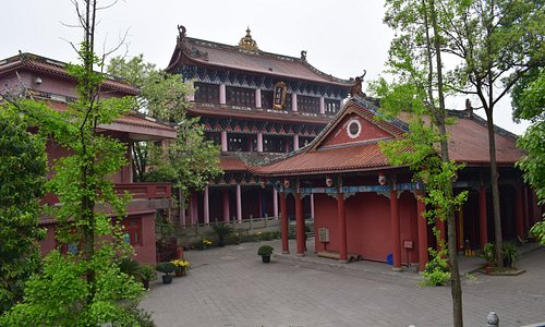 White Pagoda Temple Biluo Library & Teahouse