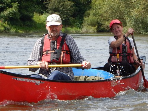 Canoe hire and guided trips.