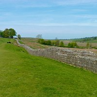 Birdoswald Fort, lengthy section of Hadrian's Wall