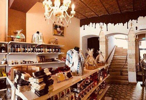 Choco museum gift shop