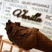 gelato al cioccolato fondente Domori