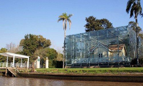 Vista Frente Museo Casa Sarmiento desde el río
