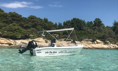 Explore Vourvourou by an Into the Blue - Boat Rental