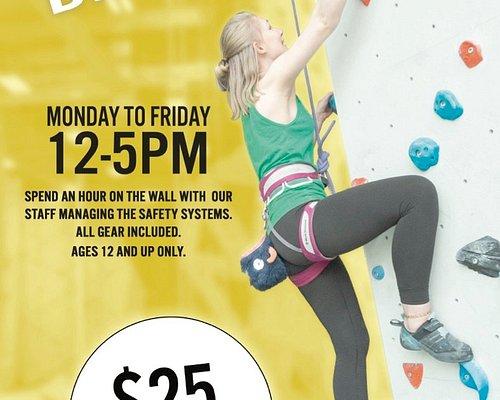 Drop in Climbing $25