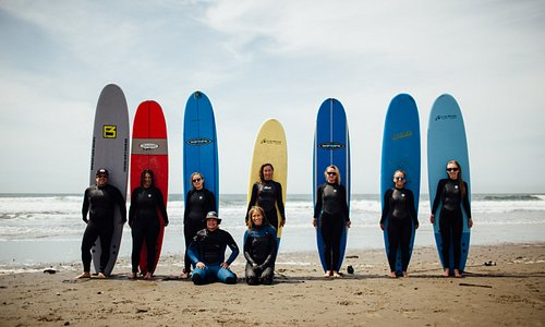 Amazing day of surfing at Stinson!