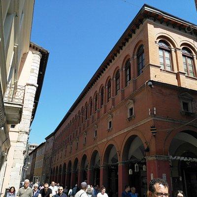 Palazzo delle Logge on the Corso