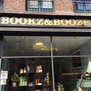 Very interesting store that promises to match a bottle to that book you love. Books & Booze is a