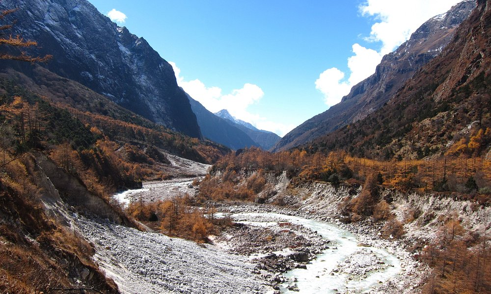 The section is based between Ghunsa and Khambachen.