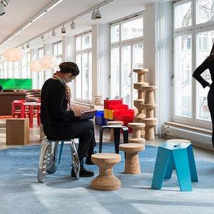 Museum für Gestaltung Zürich, Swiss Design Lounge