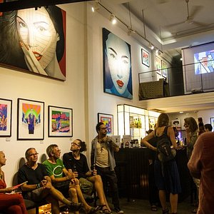 Opening of 'Electric Crazyland' featuring original pieces by Grande Dame.
