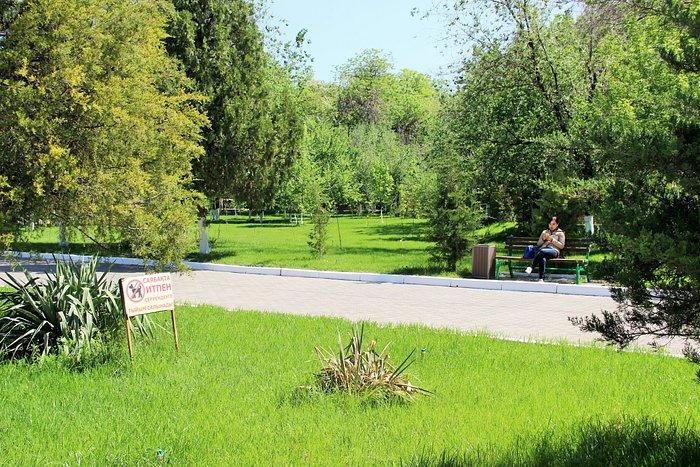Парк Абая, вид на места отдыха