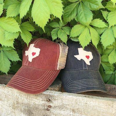 Custom designed hats exclusive to Vintage Soul
