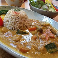 Vegan Coconut Curry with Brown Rice (Gluten Free)