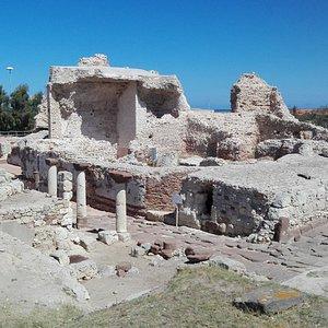 Panoramica degli scavi