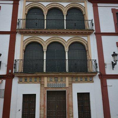 Una de las casas de la Plaza de San Fernando