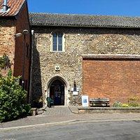 Entrance of Wymondham Arts Centre
