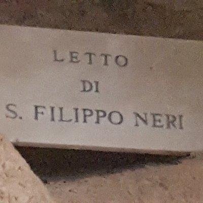 Letto di San Filippo Neri