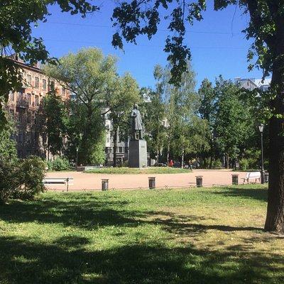 Некрасовский сад - cквер
