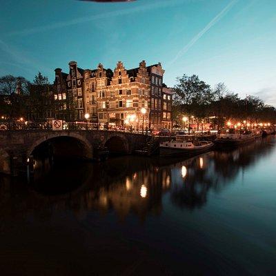 Amsterdam boat view