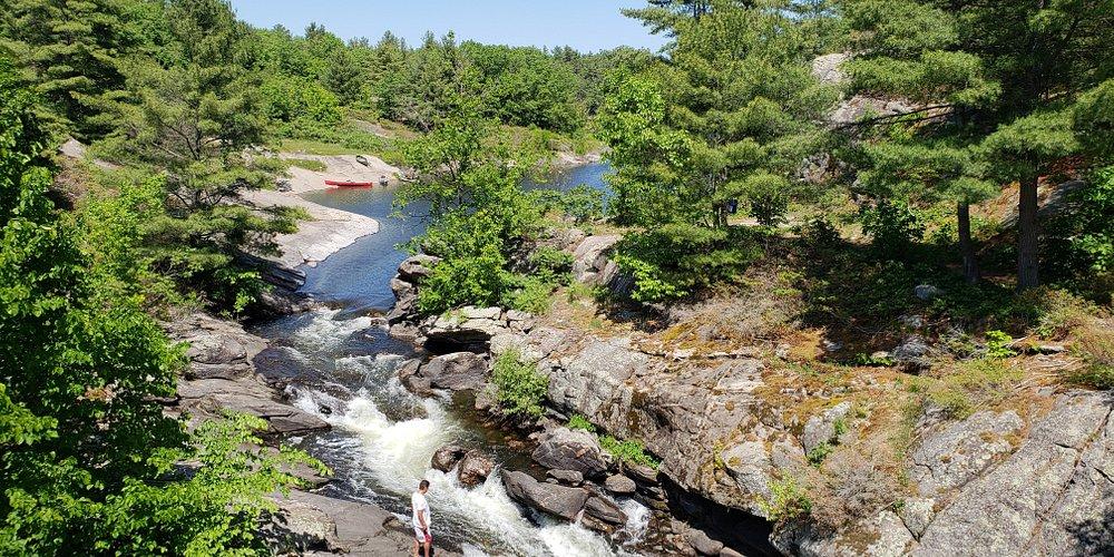 McCrae Lake Waterfalls