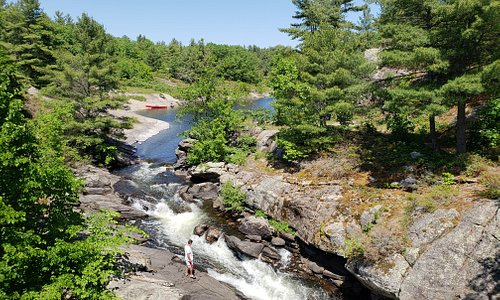 McCrae Lake Waterfalls