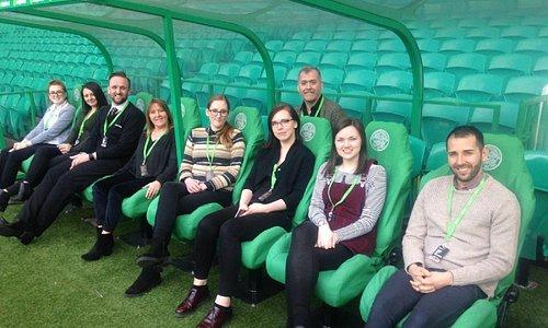 Celtic FC Dugout