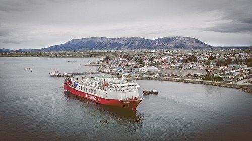Ferry Evangelista en Puerto Natales