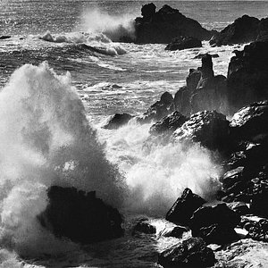 Ansel Adams made this photograph near the Alinder Gallery locatoin.  See this print and many mor