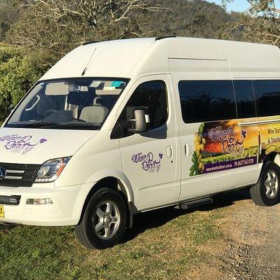 The Wine D Road Tour Bus