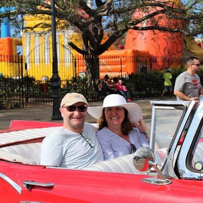 Classic Car Ride in Old Havana