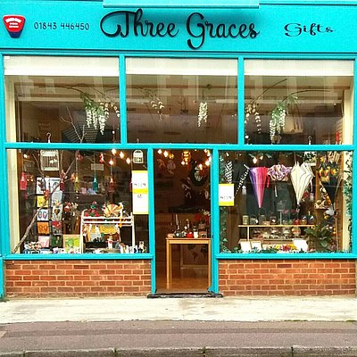 Three Graces gift shop front