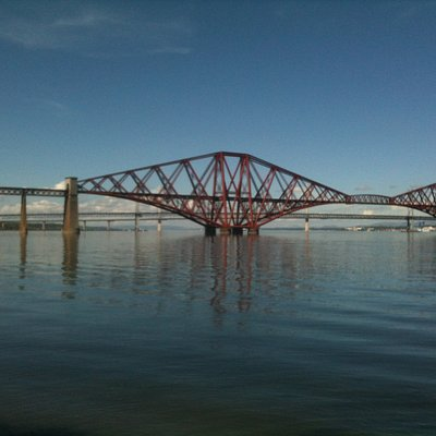 Forth Bridges in South Queensferry