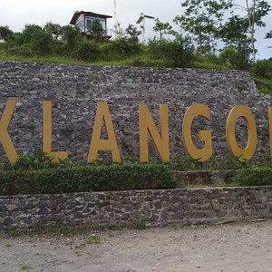 Bukit Klangon, see city view from a height