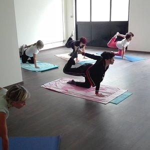 Yoganostress yoga Roma Bravetta